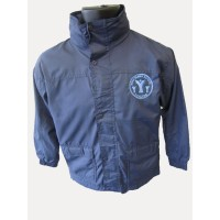 RAIN JACKET WITH POLAR FLEECE LINING