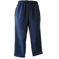 STRAIGHT LEG TRACK PANTS WITH DOUBLE KNEE