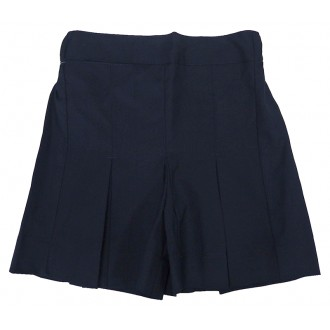 NAVY SQUARE WEAVE CULOTTES