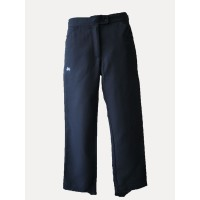 GIRL'S STRAIGHT LEG TAILORED PANTS WITH IN-SEAM ZIP