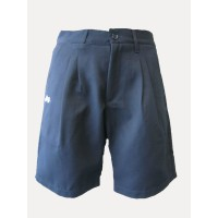 TAILORED SHORTS WITH IN-SEAM ZIP POCKETS