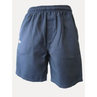 SURF STYLE GABARDINE SHORTS WITH IN-SEAM ZIP