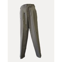 TAILORED PANTS WITH IN-SEAM ZIP POCKETS