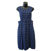 WINTER TUNIC WITH TWO PLEATS AND DETACHABLE BIB