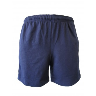 NAVY HEAVY RUGBY SHORTS