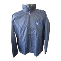 WATERPROOF SPRAY JACKET WITH COTTON LINING
