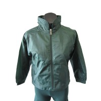 WATER PROOF SPRAY JACKET WITH POLAR FLEECE LINING