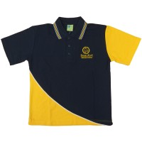 SHORT SLEEVE POLO SHIRT FRONT