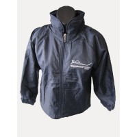 WATERPROOF SPRAY JACKET WITH POLAR FLEECE LINING