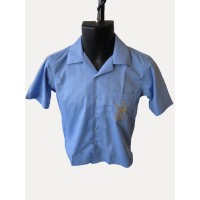 BOYS S/S SHIRT WITH SPLIT ENDS