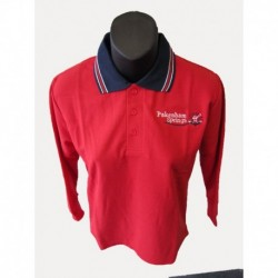 LONG SLEEVE POLO SHIRT