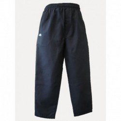 SURF STYLE GABARDINE PANTS WITH IN-SEAM ZIP POCKETS