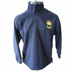 HALF ZIP POLAR FLEECE JACKET