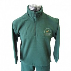 1/2 ZIP POLAR FLEECE RUGBY TOP
