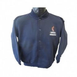 YOUTH'S SUPER FLEECE BOMBER JACKET-[WITH EMBROIDERY LOGO] FOR SPRINGVALE PARK SPECIAL DEVELOPMENT SCHOOL