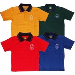 SPORTS HOUSE TEAM SHORT SLEEVE POLO PIQUE TOP