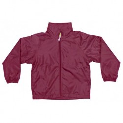 POLAR FLEECE LINED SPRAY JACKET (MAROON)