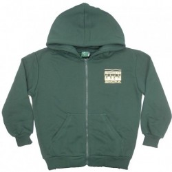 SUPER FLEECE ZIP UP HOODED BOMBER JACKET