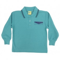 LONG SLEEVE POLO PIQUE SHIRT