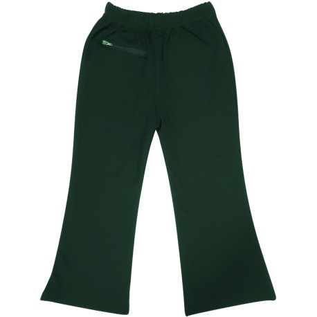 GIRL'S POLY COTTON BOOTLEG PANTS FRONT