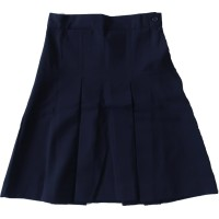 GIRL'S POLY TWILL SKIRT FRONT