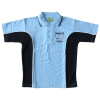 SHORT SLEEVE POLO PIQUE SPORTS MESH TOP