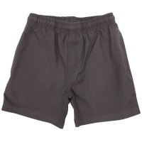 SURF STYLE GABERDINE SHORTS WITH SIDE ZIP-POCKET