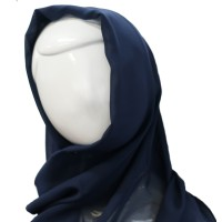 NAVY HEADSCARF