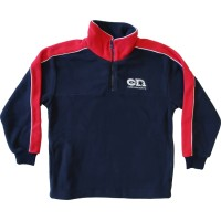 HALF ZIP POLAR FLEECE TOP