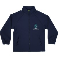 SOFT SHELL JACKET WITH POLAR FLEECE LINING