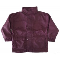 WATERPROOF RAIN JACKET WITH POLAR FLEECE LINING