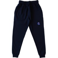 HEAVY COTTON TAPERED TRACK PANTS