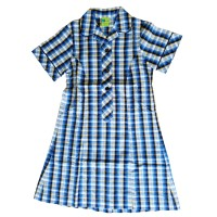 SUMMER DRESS WITH PIPING