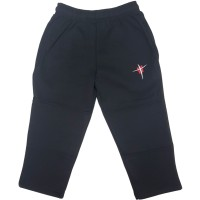 STRAIGHT LEG TRACK PANTS WITH DOUBLE